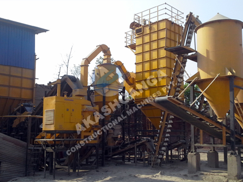 Dry Plaster Sand Making Machine